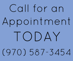 Call for Appointment with Ann Bibbey (970) 587-3454